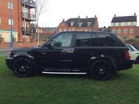 Range Rover Sport Hse Tdv6 Black 2.7 Diesel 56Reg 4x4. Jeep hpi clear NO OFFERS