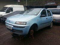 2003 Fiat Punto 1.2 - Breaking for Spares