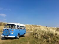 Classic VW Camper van Hire in Wales
