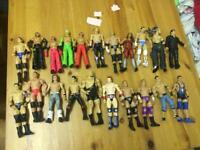 WWE Mattel basic wrestling figures/ wrestler toys