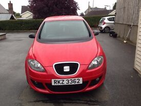 06 Seat Altea Reference - 1.6L Seat Red - Full Years MOT - £850