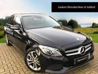Mercedes-Benz C Class C220 BLUETEC SPORT PREMIUM PLUS (black) 2015-01-17