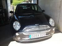 MINI COOPER (Black) A very clean, excellent drive car. Awaiting preparation...