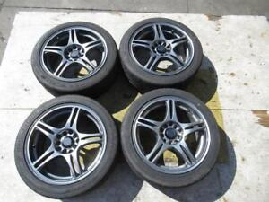 RAYS S-05 E-STAR Wheels Rims 16x7 +42 5X100 5X114.3 Bridgestone RE-71R 205/45/16