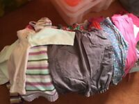 Large bag 6-12month girls clothes