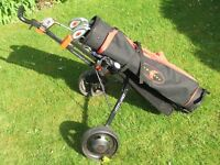 Junior Golf Clubs + Bag + Trolley