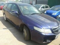HONDA ACCORD 22 I_CDTI DIESEL ESTATE ALLOYS LEATHER SERVICE HISTORY 10 STAMPS