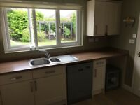 Howdens kitchen 4 years old with oven and dishwasher (if required)