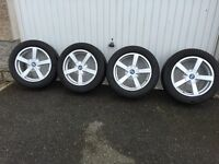 """Winter tyres + 16"""" alloys - had for BMW 1 series (F20)"""