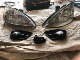 Ford Focus headlights & fogs