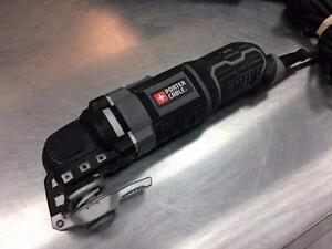 Outil à découper polyvalent PORTER CABLE PCE605 + accessoires  #F021996