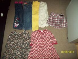 lovely 12-18 months girls clothes bundle 8 items