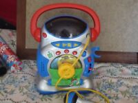 childs small musical karioke learning machine