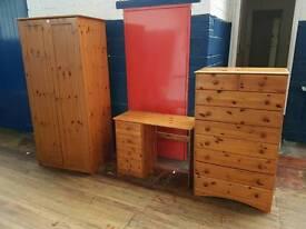 Drawers Wardrobe & Desk