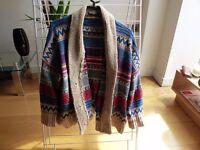 Peruvian style cardigan - Size S