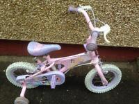 Quality Disney Princess Pink Kids Bike