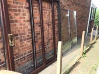 Double glazed sliding door