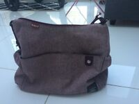 Babymel tweed change bag