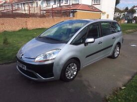 Citroen Grand C4 Picasso 1.6 HDi 16v SX 5dr, p/x welcome, 6 MONTHS FREE WARRANTY