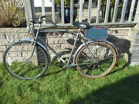 Gents bicycle 3 gears 21 inch frame Peugeot