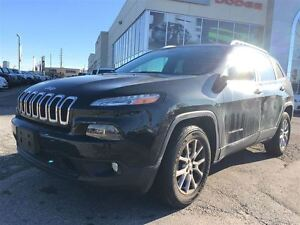 2016 Jeep Cherokee 1 Owner Cherokee North 4x4