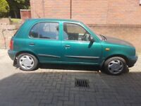 2000 Nissan Micra - Low Mileage, 1 Lady Owner from new