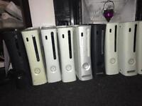 10 x xbox 360 consoles