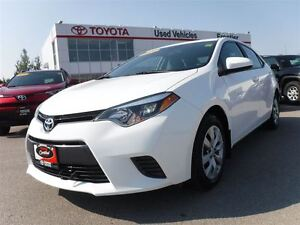 2015 Toyota Corolla LE TOYOTA CERTIFIED PRE OWNED