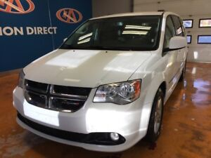 2017 Dodge Grand Caravan Crew LEATHER/ BACK-UP CAM! FINANCE NOW!