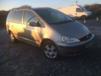 6 speed ford galaxy brand new mot new cam belt loads of history built in DVD player in head rest