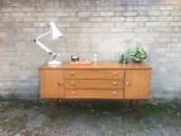 VINTAGE RETRO SIDEBOARD FREE DELIVERY CHEST 🇬🇧DANISH