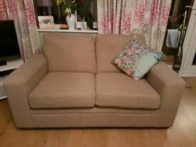 Next 2 seater sofa for sale (cushion not included)