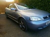 2005 vauxhall astra convertible only 59k 2.0 turbo vxr spec