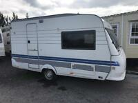 Hobby 400 exclusive 15ft x 7ft lightweight full awning abi elddis swift caravan holiday Monday sale