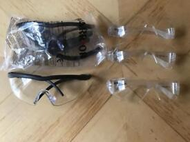Warrior Safety Glasses. 5 pairs. Great condition
