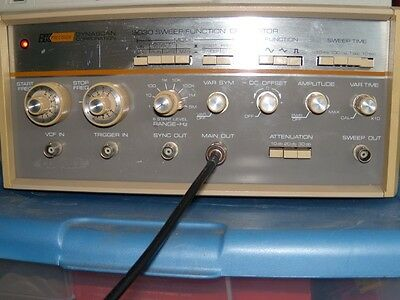 Bk Precision 3030 Sweep Function Generator Working Calibrated.