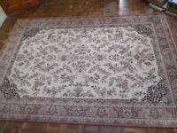 Vintage rug/carpet in pure new wool