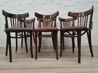 Six Bentwood Dining Chairs (DELIVERY AVAILABLE)