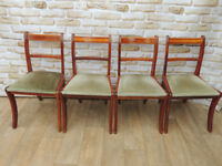 4 Yew chairs (Delivery)