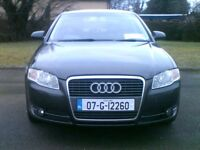 **EXCELLENT 2007 AUDI A4 2.0 TDI SE(140) 6 SPEED*SOUTHERN REG*FULL SERVICE HISTORY**VW,BMW,MERECEDES
