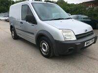 2005 55 REG FORD TRANSIT CONNECT SWB T200 L, 1.8 TDCI,92k, PANEL VAN WITH A YEAR MOT