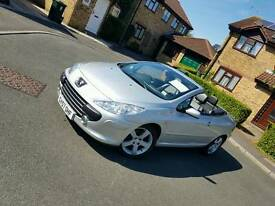 Stunning Peugeot 307 HDI CC Convertible with New MOT and Valeted 83k