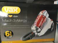 VAX MACH 3 ALLERGY!! Amazing condition. BOXED