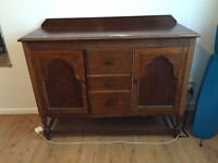 Lovely antique pull-out writing desk