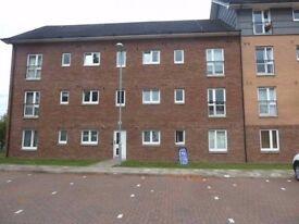 Modern unfurnished 2 Bedroom Flat to Let, Renfrew