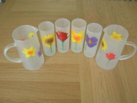 DARTINGTON GLASS JUGS & GLASSES