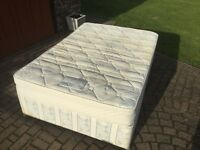 4ft6 double Dorlux Rhapsody deep base divan.