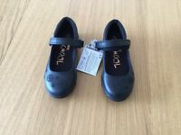 BRAND NEW NEXT girls size 10 flashing school shoes
