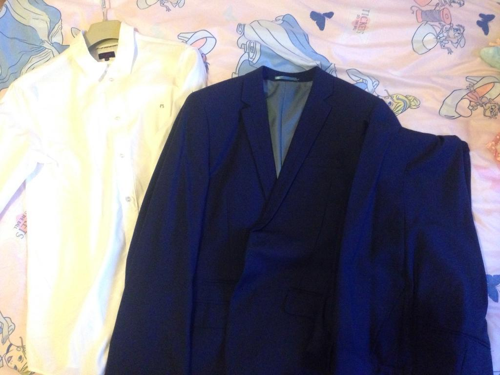 Paul smith shirt & next suit bundle. Can be bought separate