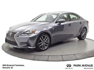 2014 Lexus IS 250 INT ROUGE ** A VOIR!